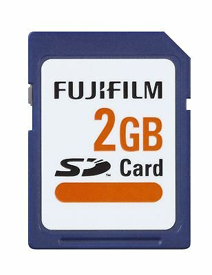 Fuji FujiFilm 2GB SD Memory Card for Digital Cameras/Camcorder etc
