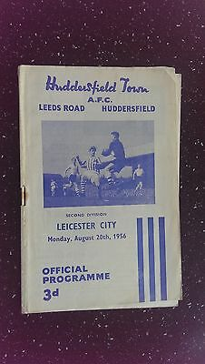 Huddersfield Town V Leicester City 1956-57
