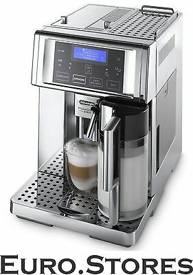 DeLonghi PrimaDonna Avant ESAM 6750 Chrome Automatic Coffee Machine Genuine New