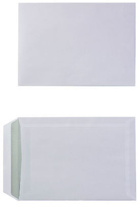 100 gsm white self-seal C5 plain business envelopes – pack of 500 NO WINDOW