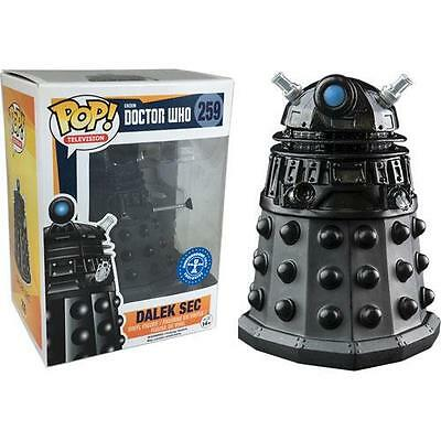 Dr Who - Dalek Sec Pop Television Vinyl Figure - New & Official BBC In Box