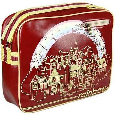 Rainbow - Vintage Logo Vinyl Sports Bag / Holdall - New & Official With Tag