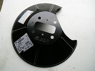 Ford Focus Mk1  O/S rear disc splash shield New Genuine Ford Part not ST/RS