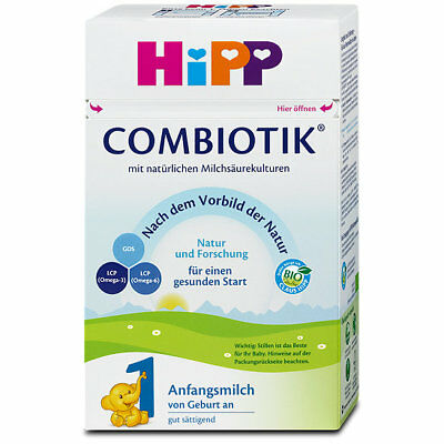 HIPP Bio Combiotic First Infant Milk Stage - Baby Formula 600g (1,2 or 3)