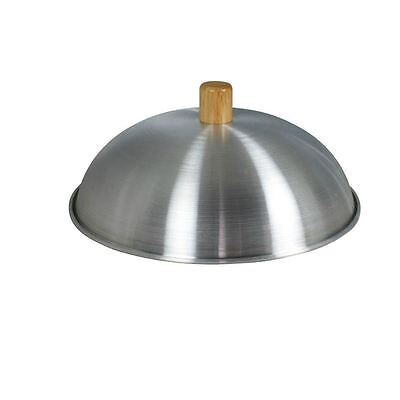 "Dexam Aluminium Wok Lid - Suitable For 12"" - 30Cm Woks - Sits Inside The Wok"