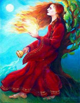Brighids Flame manual -smithcraft,poetry,healing, goddess