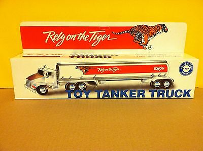 HGK Exxon Toy Tanker Truck Rely on the Tiger Collectors Series Sound & Lights