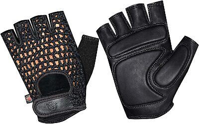 Mesh Leather Weight Lifting Training Cycling Gym Sports Wheelchair Medium Gloves