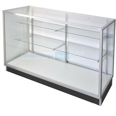 Glass Display Counter ShowCase Framed 1220(l)x510(w)x970(h)