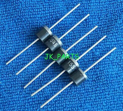 10pcs 15SQ045 15A 45V Schottky Rectifiers Diode, Brand New R-6