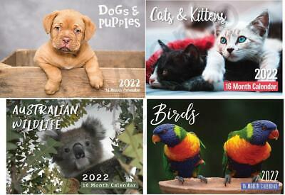 2018 Calendars Australia Birds / Kittens / Puppies / Austraian Wildlife Gift NEW