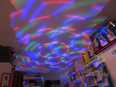 Disco Party Light - Fits Reg Light Socket, Rotating, Ceiling, DJ's, Dance Clubs
