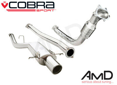 Cobra Sport Subaru Impreza WRX STi Turbo Back Exhaust Non Res Sport Cat 93-00