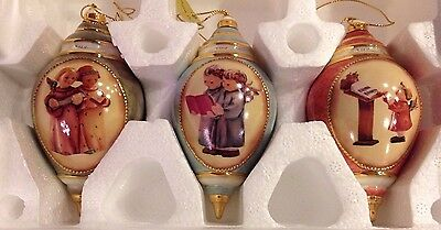 Hummel Classic Angels Christmas Ornament Collection # 3  Bradford Editions 68722
