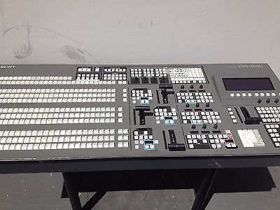 Sony DVS-8000C Digital video Switcher / Chassis & Control panel