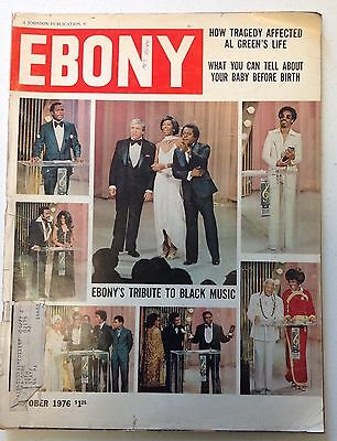 "Ebony Magazine  October 1976 ""Ebonys Tribute to Black Music"""