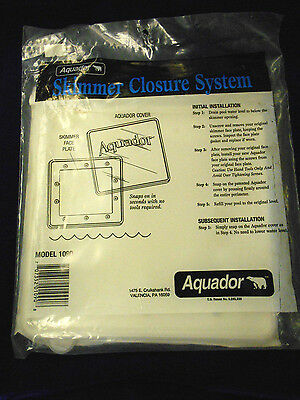 "Aquador Skimmer Closure System for Standard 6"" Skimmers"