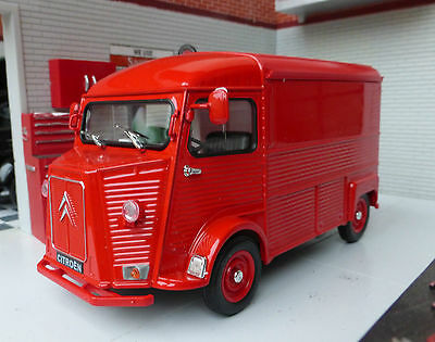 Welly Citroen H Type Van G LGB 1:24 Scale Diecast Detailed Model 1947-1981 Red