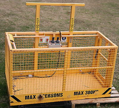 Manitou MT1030S Two Man Work Cage with Remote Control SWL 300kg Telemast