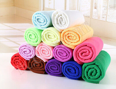 1PC Microfiber Water Ultra Absorptive Bath Towel Cloth For Pet Dog Puppy Cat