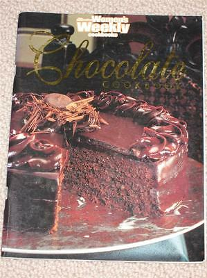 Womens' Weekly Chocolate Cookbook Cooking Recipes Chocolate Chef Cooking