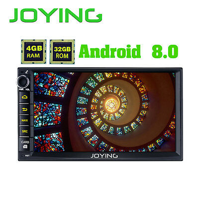Joying Android5.1 Quad Core 2din Car Radio Navi GPS BT 4G Wifi OBD Mirror Link