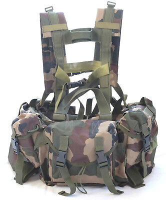 Tan Tactical Vest  Webbing Belt / Army Chest Rig / Airsoft, Paintball Ammo Rig