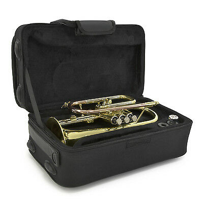 New Coppergate Intermediate Cornet, Gold, By Gear4music