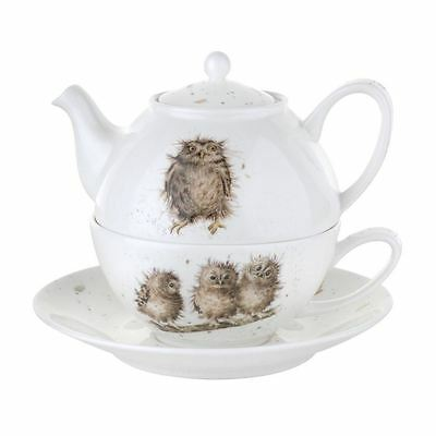 Portmeirion Royal Worcester Wrendale Tea for One with Saucer