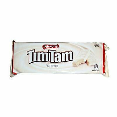 Tim Tam White Chocolate Biscuit Cookie 165g