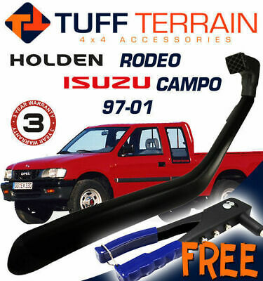 Snorkel Kit For Holden Tf R7 R9 Rodeo Isuzu Campo Diesel 97-01 Models Free Bonus
