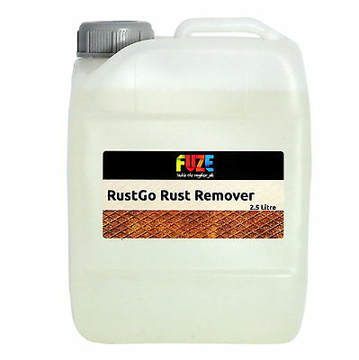 Rust Go -  Rust Remover, Rust Treatment, Remove Rust - 2.5 litres