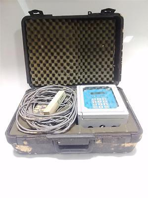 COMPU-FLOW PORTABLE DOPPLER ULTRASONIC FLOW METER *kjs*