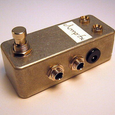 Amp-fx 1 Kanal True Bypass Looper // AB Switch Box // Handmade in Berlin.