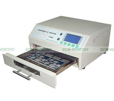 T962 Infrared BGA IC Automatic Heater Reflow Oven Soldering Area 180×235MM 800W