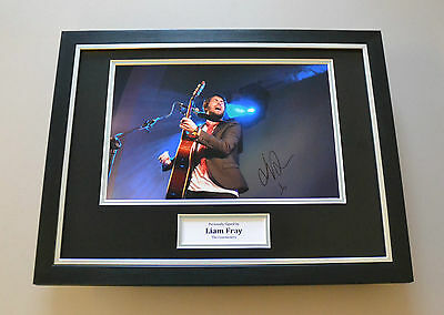Liam Fray Signed Framed 16x12 Photo Courteeners Autograph Display Memorabilia