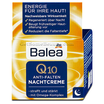 Balea Q10 Anti-Wrinkle Night Cream 50 ml (Balea Q10 Anti-Falten Nachtcreme)