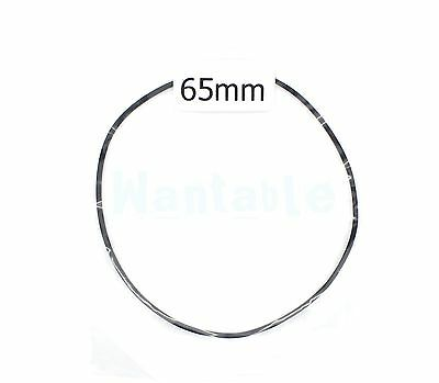 65mm Rubber Drive Belt Replacement Part for Cassette Tape Deck Recorder