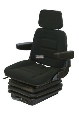 Tractor Backhoe Seat Driver's Seat Basic Eco Fabric