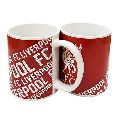 Liverpool Fc Ceramic Coffee Tea Mug With Club Logo & Liverpool