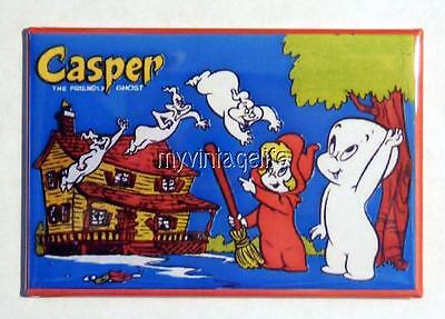 "Vintage CASPER The Friendly Ghost  Lunchbox 2"" x 3"" Fridge MAGNET"