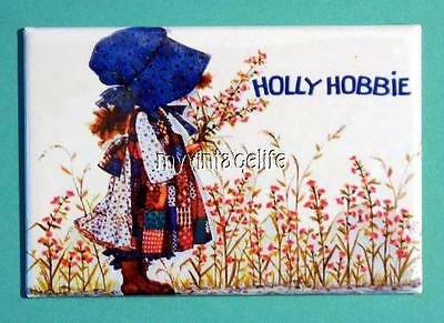 "Vintage HOLLY HOBBIE Lunchbox 2"" x 3"" Fridge MAGNET"