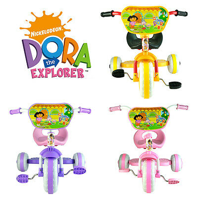 Dora The Explorer Bike Trike Bicycle Tricycle Kid Child 3 Wheel Car Ride On Toy