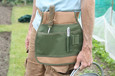 Green Unisex Gardening Tool Belt Apron. Kitchen Garden Allotment Wear.