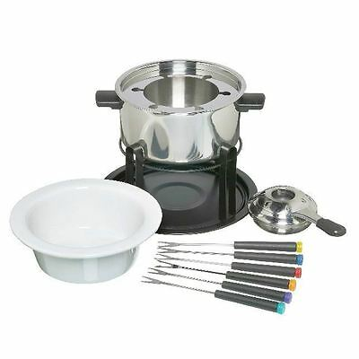Deluxe Fondue Set Stainless Steel