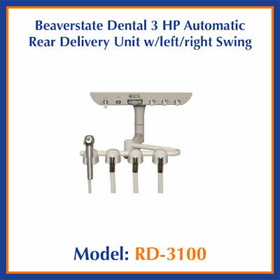 Beaverstate Dental RD-3150 Rear Dual Under Counter Mount Delivery Unit w/ Swing