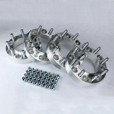 """Hubcentric 8x170 Wheel Spacers Adapters - Ford F250 F350 Excursion SuperDuty 2"""""""