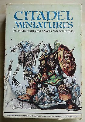 Citadel GW CP2 - Bryan Ansell's Heroic Adventurers - Classic Box Set AD&D