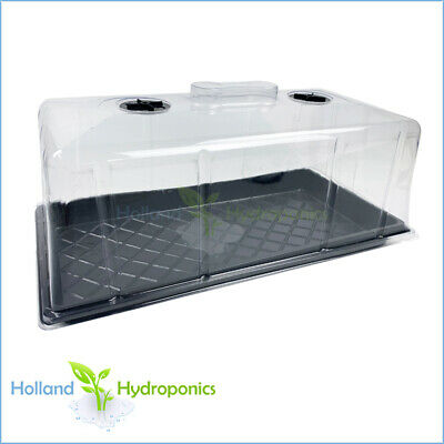 Hydroponics Grow light Propagation Flat Water Tray for Seedling Cloning & Dome
