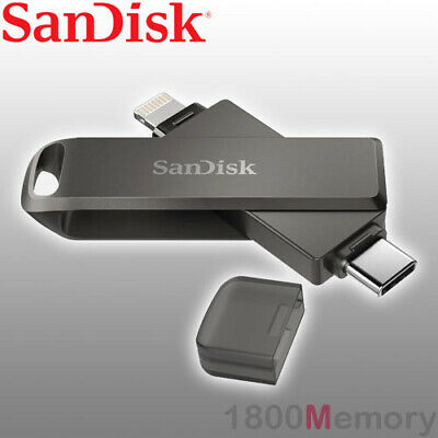 SanDisk iXpand Flash Drive for iPhone iPad Computers Move HD Movie Photo Video